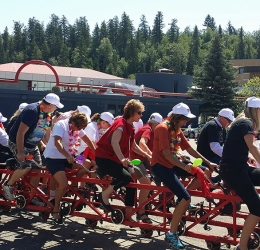 Big Bike Fundraiser - Royal LePage Aspire Realty Community Involvement