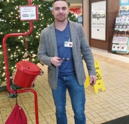 Salvation Army Kettle Campaign - RLP helping