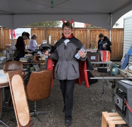 Garage Sale at RLP - Royal LePage Aspire Realty Community Involvement